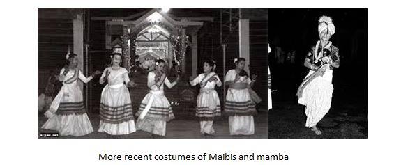 costumes of Maibis and Mamba